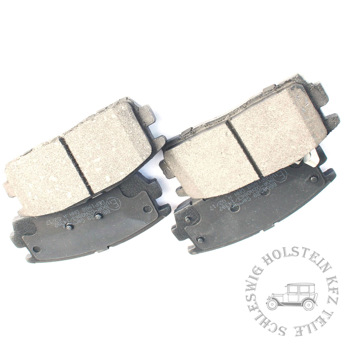 BB.8186 Bremsbelagsatz Brake pads Hinterachse Ford Jaguar